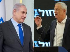 Netanyahu e Gantz iniciam negociações por governo de coalizão em Israel