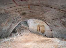 Arqueólogos descobrem sala escondida há 2.000 anos na mansão de Nero