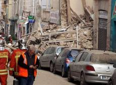 Edifícios desabam no centro de Marselha, na França