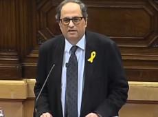 Independentista Quim Torra é eleito novo presidente da Catalunha