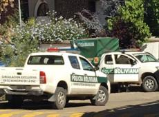 México denuncia aumento de cerco militar em torno da embaixada do país na Bolívia