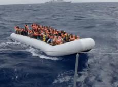 Itália fecha portos para desembarque de navio de migrantes