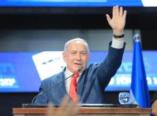 Netanyahu promete anexar parte da Cisjordânia se vencer eleições em Israel