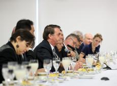 Fome no Brasil é 'grande mentira', pois não há pessoas 'com físico esquelético' nas ruas, diz Bolsonaro