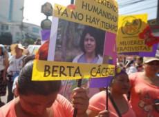 Atos por justiça marcam os três anos do assassinato da líder social Berta Cáceres