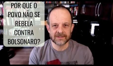 #AOVIVO - 20 Minutos Nacional: Por que o povo não se rebela contra Bolsonaro?