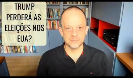 #AOVIVO - #20Minutos  #BrenoAltman: Trump perderá as eleições nos EUA?