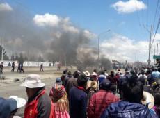Bolívia: Indígenas de El Alto marcham até La Paz carregando caixões de mortos pela repressão policial