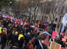 França: greve contra reforma da Previdência pode durar até o Natal