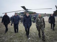 Macron afirma que Otan está em estado de 'morte cerebral'