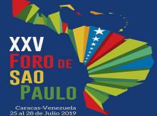 Começa, em Caracas, o 25º Encontro do Foro de São Paulo