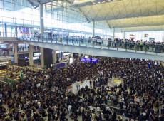 Justiça de Hong Kong proíbe novos protestos em aeroporto