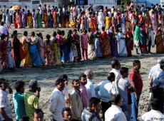 Índia vai às urnas em eleição de superlativos