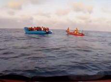 Dois navios aguardam no Mediterrâneo autorização para desembarcar 164 migrantes