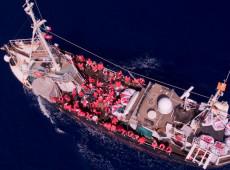 Italianos apreendem navio de resgate alemão