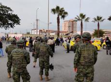 Crise no Equador: Exército decide colocar veículos para transportar civis