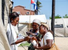 Médicos cubanos atendem vítimas do ciclone Idai em Moçambique; veja fotos