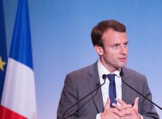 Macron cita 'mal-entendido' em crise diplomática com Itália