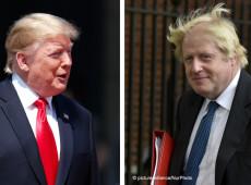 Trump e Johnson se comprometem a 'ambicioso' pacto comercial