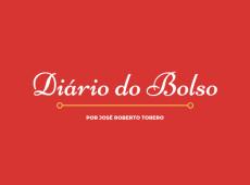Diário do Bolso: Perdi a linha mesmo, Diário; me exaltei
