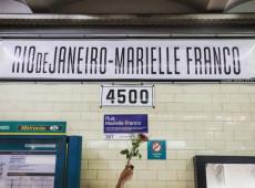 Atos em Buenos Aires prestam homenagens a Marielle Franco; veja fotos
