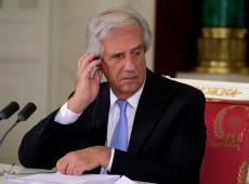 Exame confirma tumor maligno no pulmão do presidente do Uruguai, Tabaré Vazquez
