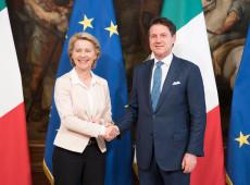 Após cúpula com premiê da Itália, von der Leyen propõe pacto sobre migração