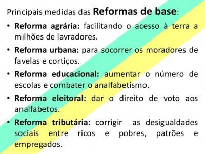 """""""Queremos de volta as reformas de base. Nunca saíram do papel. """""""