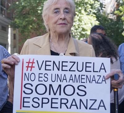 A Jornalista argentina Stella Calloni.